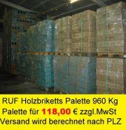 24 Ton RUF Holzbriketts Briketts