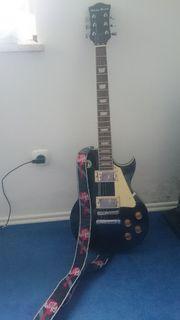 Gut erhaltene Gitarre