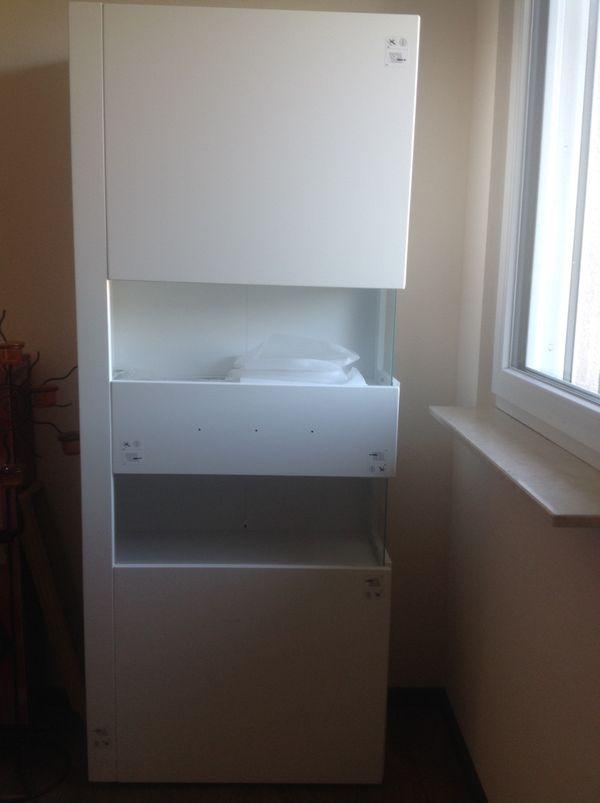 neu wohnzimmerschrank wei hochglanz in b hlertal. Black Bedroom Furniture Sets. Home Design Ideas