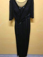 Schwarzes Abendkleid, sehr