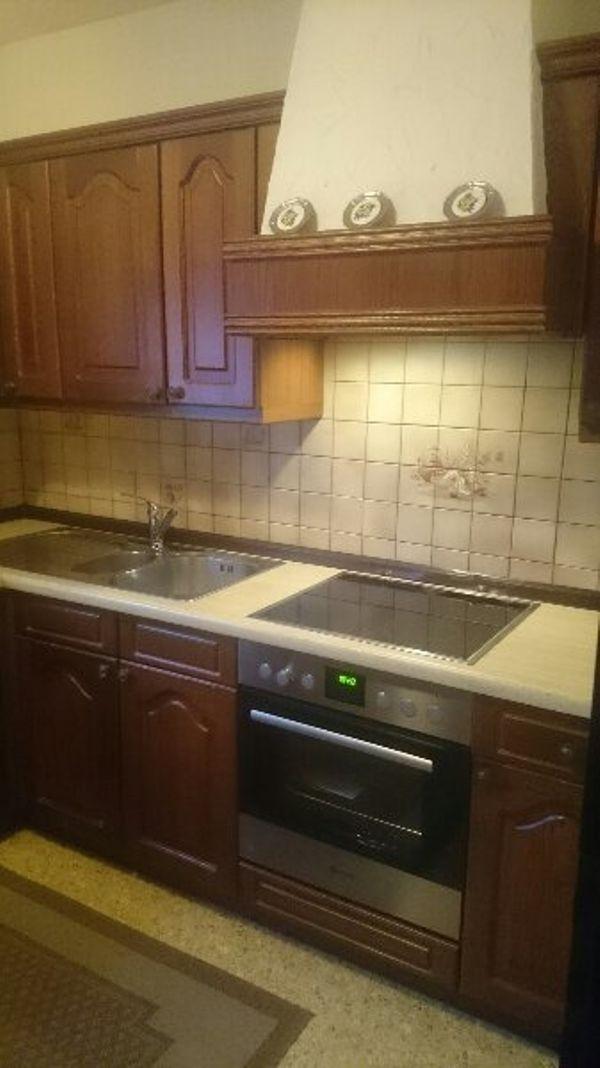 Massivholzküche gepflegte massivholz küche in rohrbach küchenzeilen anbauküchen