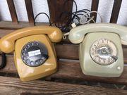 alte Wählscheibentelefone