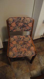 Esstisch mit Stühlen Massivholz