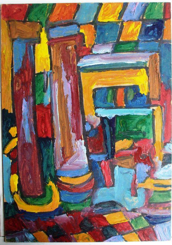 Kunst Gemälde Modern gemälde modern expressionist surrealistisch in hallbergmoos