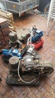 Set aus verschiedenen Pumpen