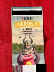 Highfield Festival Ticket