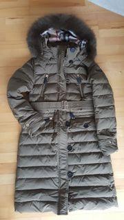 Burberry Mantel Daune Daunenmantel Winter