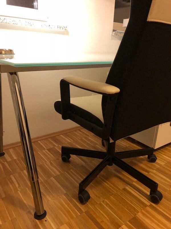 IKEA Schreibtisch Galant + Drehstuhl in München - Büromöbel kaufen ...