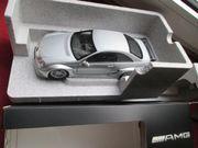 Mercedes-Benz CLK Coupe AMG silber