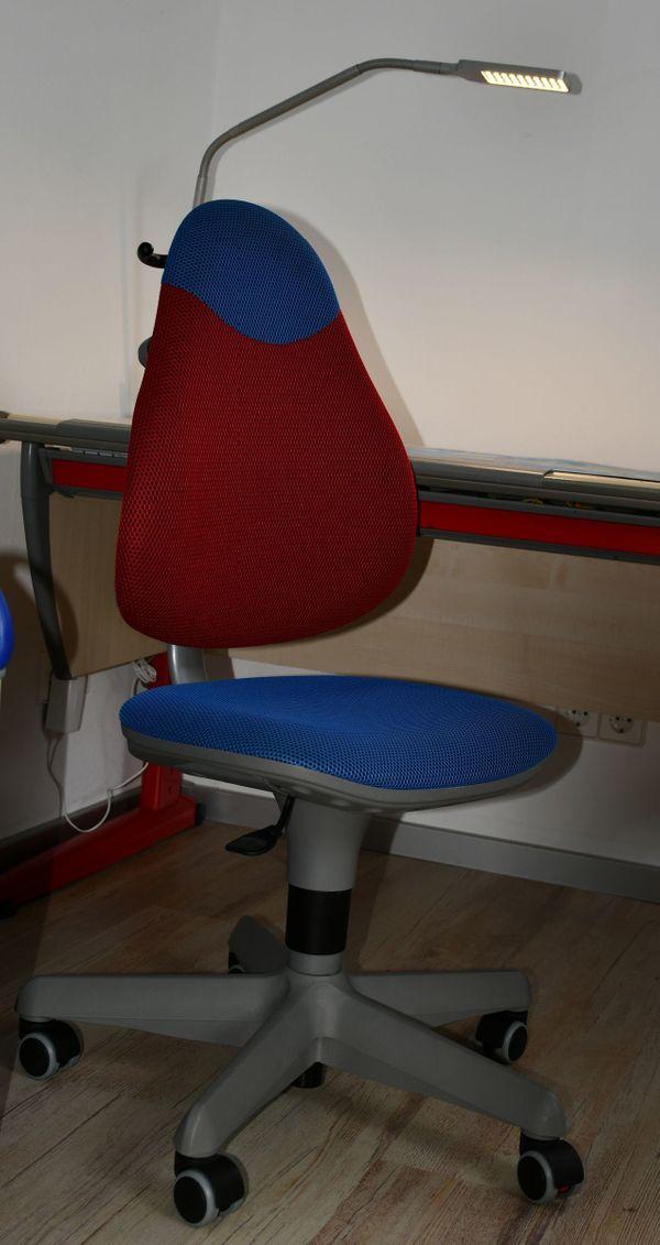 Paidi Drehstuhl Schreibtischstuhl Pepe Rot Blau In Stuttgart