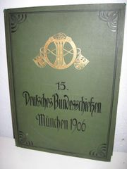 Schützen Tradition Historisches Buch Bundesschießen