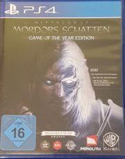 Mittelerde - MORDORS SCHATTEN PS4
