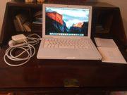 MacBook 13 Zoll weiß mid