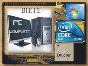 PC + Monitor +Zubehör +
