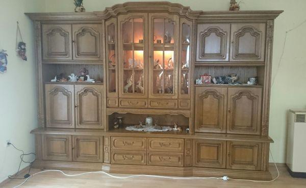 Schöner, gepflegter Wohnzimmerschrank Eiche massiv in Kusel ...