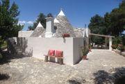 Romantische TRULLO in Apulien zu