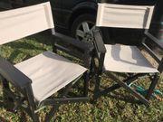 4 Regiestühle klappbar Wintergarten Outdoor