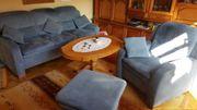 Couchgarnitur blau