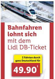 Lidl DB-Ticket