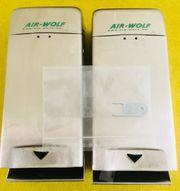 Toilettenpapierspender abschließbar 2 Stück Air