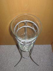 Schöne Glasvase, Glaskegel