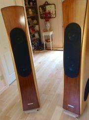 Genesis 6 1 Tower-Lautsprecher Eingebaute