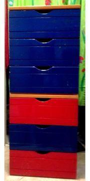 Vollholz Schubladenschrank für Kinderzimmer usw