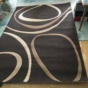 Teppich braun & beige