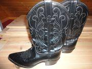 Amerikanische Cowboy-Stiefel