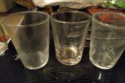 Gläser Likörgläser Kurze kleine Gläser