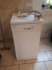 Platzsparende Spülmaschine