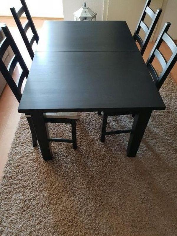 Ungewöhnlich Ikea Holz Küchentisch Und Stühle Zeitgenössisch ...
