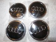 Schwarz Audi Nabenkappe Nabendeckel Kappe