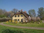 Ferienhaus mit Reetdach auf Rügen