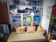 Massivholz Holzregale 3 Stück