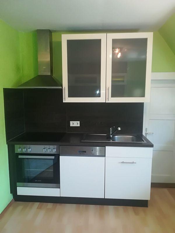 Verkaufe Küche mit Herd,Spülmaschine,Kühlschrank und großer ...