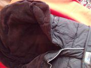 Winter-Fusssack mit Schlitzen hinten für