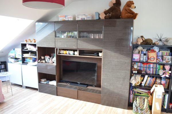 Ikea Wohnzimmer Regal Inkl Vitrine Zum