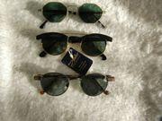 3 Marken Sonnenbrille