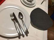 Töpfe Pfannen Tischwäsche Kleinteile Geschirr
