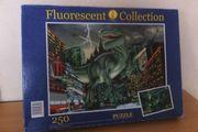 Fluoreszierendes Dino-Puzzle 250 Teile