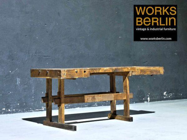 Alte Werkbank Aus Holz Worksberlin Com In Berlin Designermobel