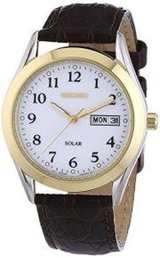 SEIKO Solar Herren Uhr Armbanduhr