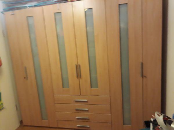 Reserviert Kleiderschrank 250x220x65 Mit Vier Schubladen Zu