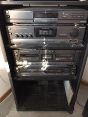 Universum Audiosystem mit Rack