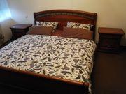 Bett massiv Kirschbaum