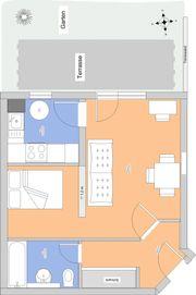 1,5 - Zimmerwohnung