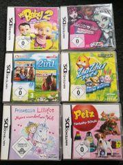 verschiedene Nintendo DS