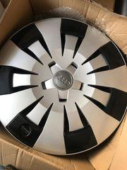 4 Stk Original AUDI Radkappe