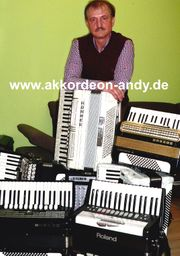 Akkordeonspieler in Münster Hamm Hagen